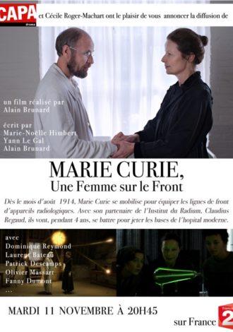 Marie-Curie, une femme sur le front